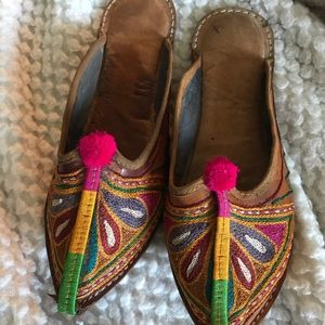 Slippers from India